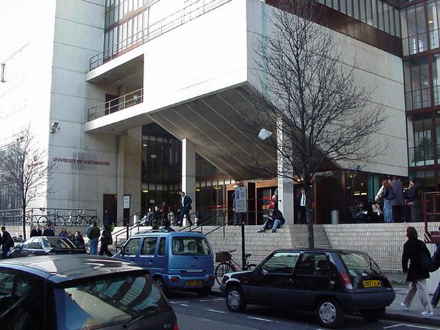 Universidade de Westminster em Londres